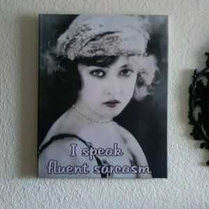 Canvas Set 1920's inspired French Paris Ladies NEW